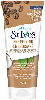 Ives and its apricot scrubs. Energizing Coconut Coffee Face Scrub St Ives