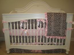 gorgeous baby nursery room decoration using pink leopard crib bedding delightful ideas for baby girl