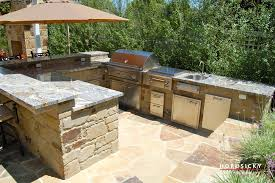 Outdoor Bbq Kitchen Outdoor Kitchens And Bbq Grills Horusicky Construction