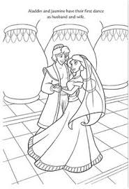 Disney Princess Wedding Coloring Pages At Getdrawingscom Free For