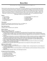 Sample Attorneyesume Solo Practitioner Cover Letter Objective Law