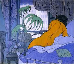 paul ranson the blue room 1891 oil on canvas 46 x 55