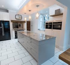 traditional contemporary kitchens. Traditional Shaker-Style Kitchen With A Modern Twist For Customers In Rochdale Contemporary Kitchens