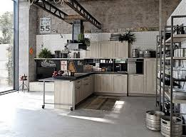 industrial kitchen furniture. loftstyled home with a large industrial kitchen that complements its aura decoist furniture
