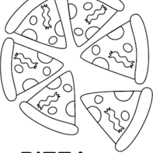 Small Picture Adult Pizza Coloring Page Pizza Coloring Pages Pizza Steve In