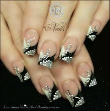 Nail Art Designs Acrylic Nails With Gel Polish, Studs And - CPGDS ...