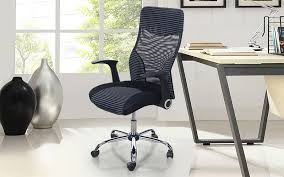 adjustable height chair. Royaloak Amber Office Chair With Adjustable Height And High Back Rest In Nylon Mesh E