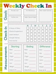 Daily Workout Journal Free Fitness Journal Meal Planning Printables