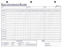 attendance spreadsheet excel attendance sheet excel for employees 2018 free printable