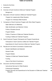 parison of south carolina s program with other state programs state definitions of giftedness state identification