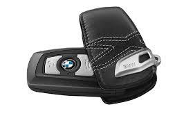 bmw leather sport key case 82292355521