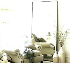 silver floor mirror.  Mirror Silver Floor Mirror Beaded Pottery Barn Leaning Mirrors Bedroom Full Length  Ideas Mirr Throughout