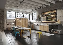 Get familiar with the exposed aesthetic of loft kitchens