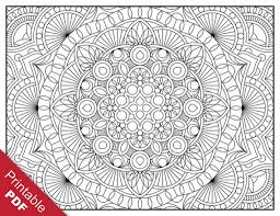 Coloring Pages Free Printable Geometric Coloring Pages With For
