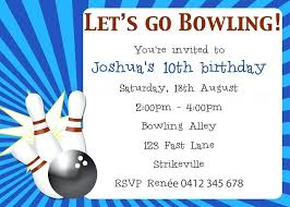 Bowling Invitation Impressive Bowling Party Invites Templates Spectacular Free Printable Birthday