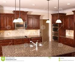 Luxury Kitchen Luxury Kitchen With Island 2 Royalty Free Stock Photos Image