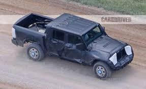 novo jeep 2018. plain jeep 2018 jeep wrangler pickup spied send in the mules with novo jeep d