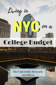 in nyc on a college student budget
