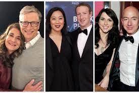 Elon Musk, Bill Gates and Jeff Bezos ...