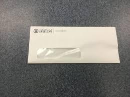 Size Of 10 Envelope Envelopes Regular W Windows Size 10 White With Okwu Logo
