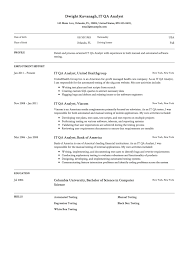 Quality Analyst Cv Quality Analyst Resume Format Qa Sles Within Psdco Org