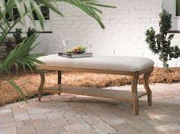 Modern Benches For Bedroom Splendid White Fabric Seater Bedroom Benches With Single Tier