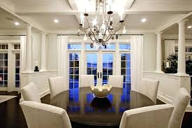 round formal dining tables