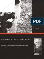 Post-Contemporary Interventions) Esther Sánchez-Pardo-Cultures of the Death  Drive_ Melanie Klein and Modernist Melancholia-Duke University Press Books  (2003) | Psychoanalysis | Oedipus Complex