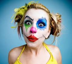cool makeup clown makeup for women diy costume ideas