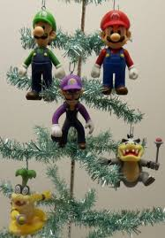 Nintendo Super Mario Brothers 19 Piece Deluxe Holiday Christmas Super Mario Christmas Tree