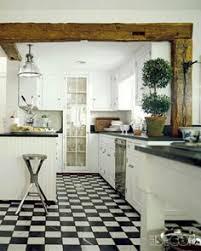 white cottage kitchens. White Cottage Kitchen With Wood Beam Ceiling Kitchens