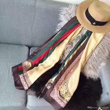 Designer Shawls And Wraps Newest Designer Silk Scarf Women Brand Scarves Long Shawls And Wraps Scarfs Femme Head Bandana Size 180x90cm Fast Ship