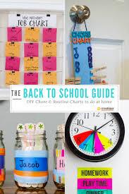 Blog Back To School Diy Chore Routine Charts