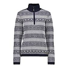 Cmp Size Chart Cmp W Knitted Pullover Navy