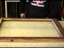 replacing glass in a woodframe you