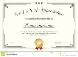 Template Certificate Of Free Editable Appreciation Old