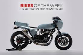 custom bikes of the week 25 november 2018 the best cafe racers scramblers