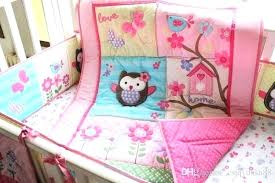 owl crib bedding owl baby bedding for girls owl crib bedding owl nursery decor target