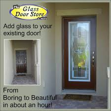 want glass door inserts installed in your front door front doors ideas add glass to front door 52 add glass to wood a tall single front door gets the wow