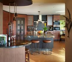 Asian Kitchen Neutral Color Cabinet Ideas (Image 5 of 10)