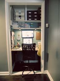 home office in a closet. Adorable Office Closet In The Same Color As My Office. Home A