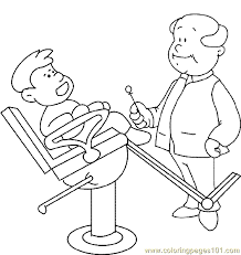 Small Picture Dental Health Coloring Page 05 Coloring Page Free Others