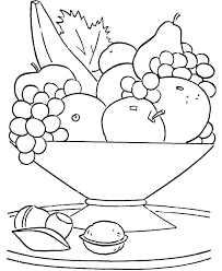 Food Coloring Pages National Food Coloring Page Free Printable
