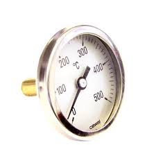 door thermometer for pizza ovens 0 500º c