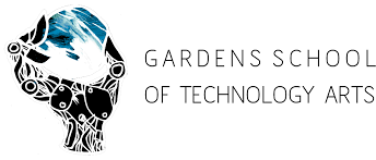 logo design by pixiepunk for gardens school of technology arts design 7497991