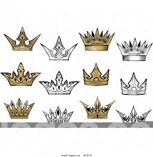 Logo With Crown Royalty Free Crown Collage Logo By Vector Tradition Sm 4314