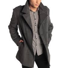 mens pea coats alpine swiss jake mens pea coat wool