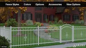 fence design. Ultra Aluminum Fence Design Studio Fence Design H