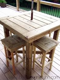 outdoor table. Patio High Top Table Outdoor