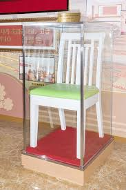 a chair used by kim jong un during his visit to the pyongyang orphans secondary in a room dedicated to memorating his visit